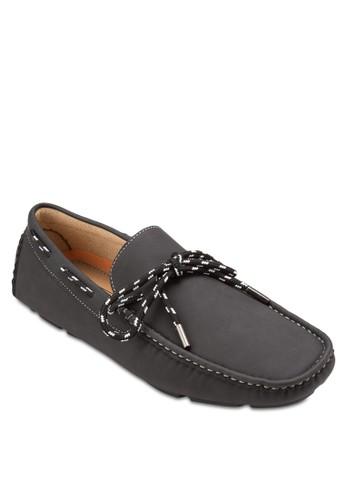 蝴蝶結方頭仿salon esprit 香港皮樂福鞋, 鞋, 鞋