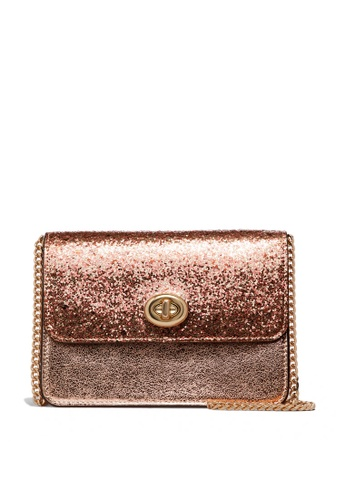 Coach pink and gold Bowery Crossbody Bag (cv) E5A0AAC9199286GS_1