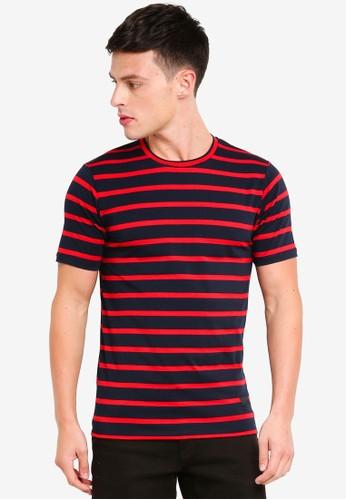 Flesh IMP navy Shuri T-Shirt B3A7AAAA2EF196GS_1