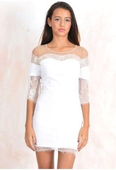 Belina Lace Mini Dress