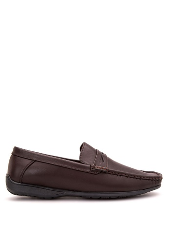 Itti brown Loafers & Moccasins IT425SH57RWOPH_1
