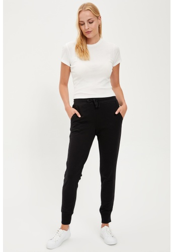 DeFacto black Woman Knitted Trouser D298EAA855F933GS_1