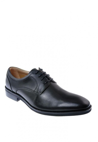 Hush Puppies black Powell Lace Up Formal Shoes 9A9AASH32C91A7GS_1