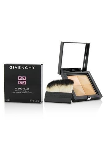 Givenchy GIVENCHY - Prisme Visage Silky Face Powder Quartet - # 5 Soie Abricot 11g/0.38oz 9468EBE7C7DAE5GS_1