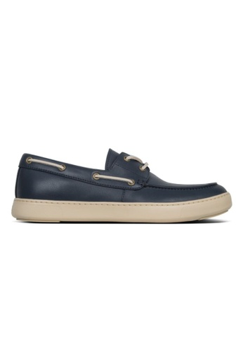 FitFlop navy Fitflop Men Lawrence Boat Shoes Midnight Navy D0BC0SHE83EA01GS_1