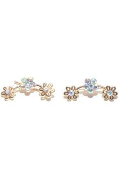 Anne Ear Cuff Style Flowers