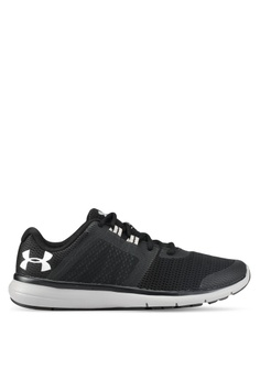 a66ee23e279 Under Armour black and white UA Fuse FST Shoes UN337SH0SU9QMY 1