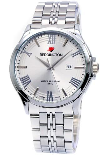 Reddington 8405 - Jam Tangan Pria - Putih - Stainless Steel