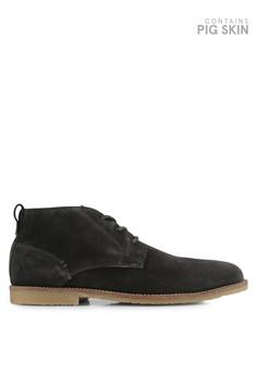 harga Grey Suede Desert Boots Zalora.co.id