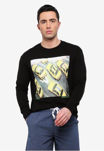 Cotton On black Tbar Long Sleeve T-Shirt F8951AA9FA7BAFGS_1