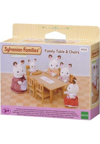 Sylvanian Families multi Sylvanian Families Family Table & Chairs B72D1THAFBB709GS_1