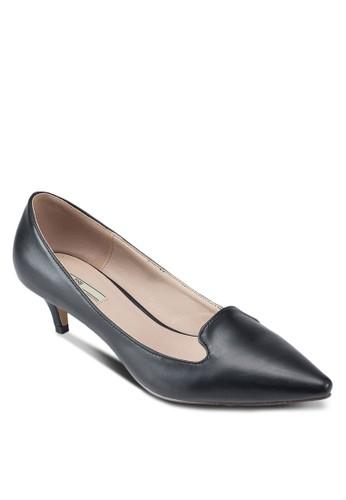 PU 尖頭低跟鞋esprit高雄門市, 女鞋, 鞋