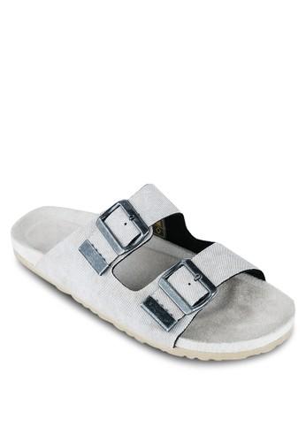 水洗雙扣zalora 順豐環涼鞋, 鞋, 鞋