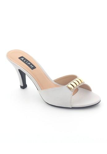 MINKA grey ALIPH Spain Silver Heels MI006SH28XRNID_1