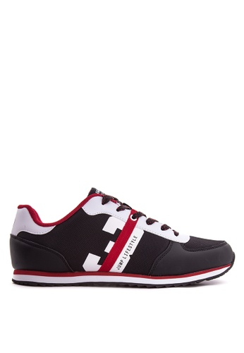 Jump black and white and red JM-16-2318 Sneakers JU701SH89VOGPH_1