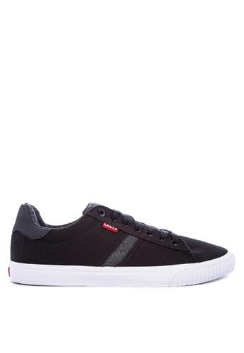 Levi's black SKINNER CANVAS/PU Sneakers 19C12SHC735C28GS_1