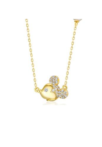 SUNSET gold Premium 925 Sliver Pearl Necklace 8F7DEACBB7D1C6GS_1