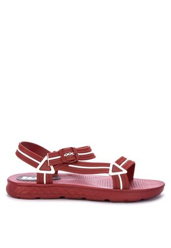 H2Ocean red Abell Sandals A119DSH626A20DGS_1