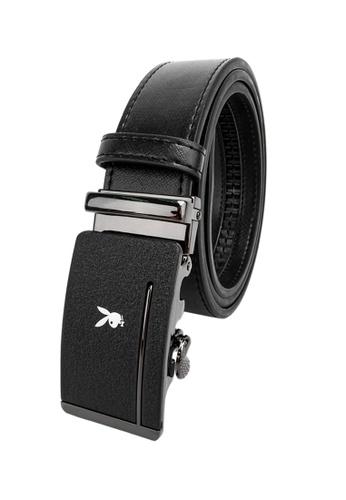 Playboy black 35mm Automatic Belt A398BACC6ECEFFGS_1
