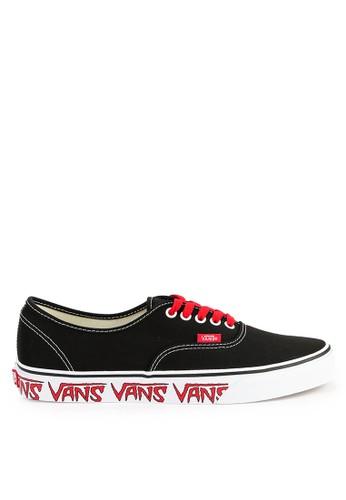 Vans black and multi Ua Authentic 47E35SH85801FDGS_1