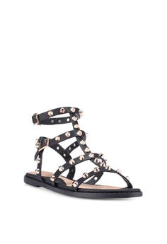 ee5bc5b8e02c15 48% OFF MISSGUIDED Dome Stud Gladiator Sandals S  59.90 NOW S  30.90 Sizes  3 4