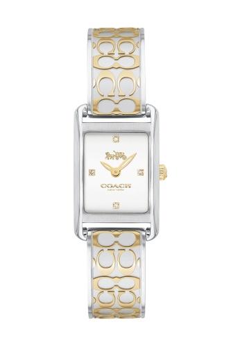 Coach silver Coach Allie Silver White Women's Watch (14503381) AE59FAC693B4CBGS_1