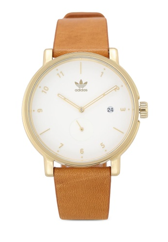 Adidas gold adidas originals District LX2 Watch 671ABACCDF597BGS_1