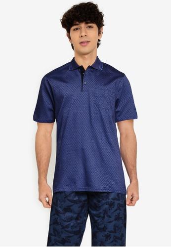 LC Waikiki navy Short Sleeve Cotton Polo Shirt 24889AA586F99EGS_1
