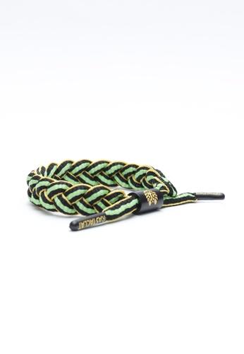 Rastaclat multi Rastaclat Braided Shoelace Bracelet - Jamaica RA286AC26WKNHK_1