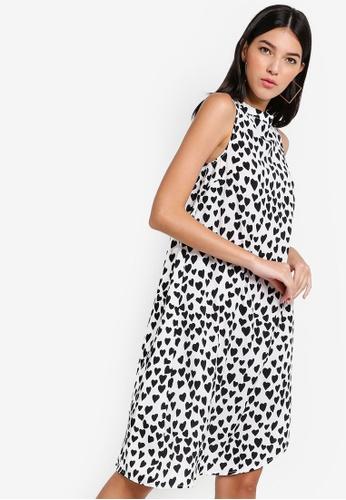 ac3d2e199ddc75 Buy ZALORA Asymmetric Hem Midi Dress Online on ZALORA Singapore