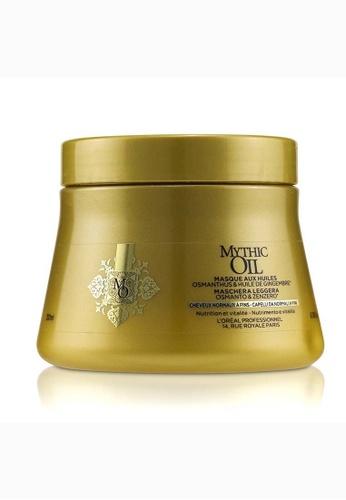 L'Oréal L'ORÉAL - Professionnel Mythic Oil Oil Light Masque with Osmanthus & Ginger Oil (Normal to Fine Hair) 200ml/6.76oz 0C8D9BE206F750GS_1