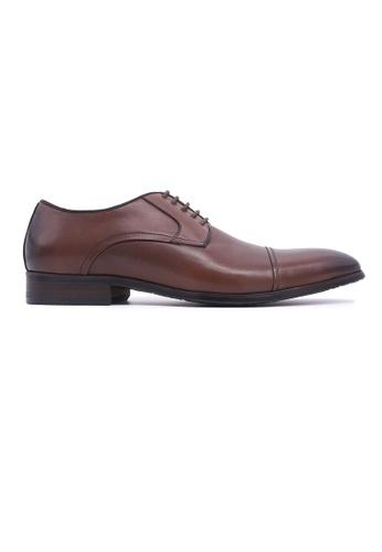 Hanson Bootmaker brown Hanson Bootmaker LacEasy Derby - Brown 8288ESHBDB1D4BGS_1