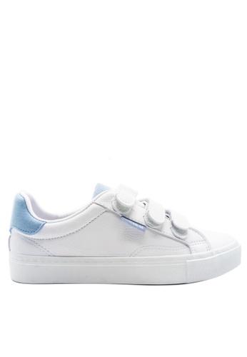 Twenty Eight Shoes blue Triple Straps Sneakers 8033 15F40SHCE8AC1CGS_1