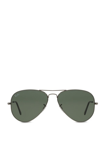 Ray-Ban Aviator Large Metal RB3025 Sunglasses RA370GL27SAUSG_1