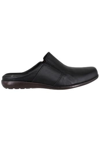 midzone black EAGLE HUNTER Handmade Leather Loafer 82AC1SHA526DA8GS_1
