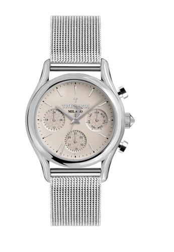 Trussardi silver Trussardi T-Light Silver Men's Watches R2453127001 C7ECDACCEF1B64GS_1