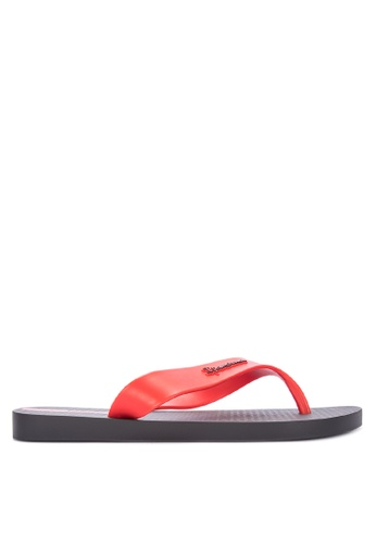 Ipanema black and red Deck Basic Ad Flip Flops FAC2CSH2631C7AGS_1