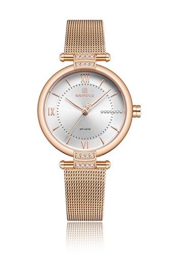 Fashion by Latest Gadget multi Naviforce NF5019 Metal Finish Quartz Watch F66E5ACA04F270GS_1
