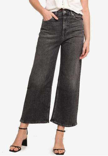 Pepe Jeans blue Lexa Sky High Flare Cropped Jeans 88416AA096E66DGS_1