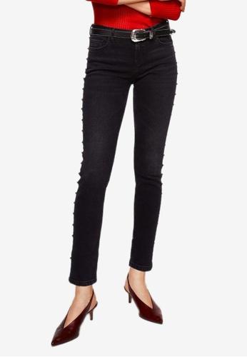 Mango grey Skinny Tachas Jeans 845BBAADEC1956GS_1