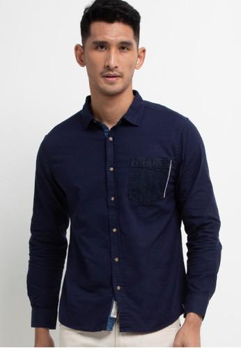 X8 navy Mustafa Shirts 1DEC6AA91D7FD5GS_1