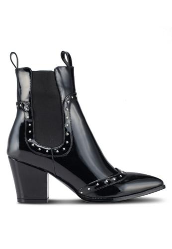 a0e86ec9ba4 Buy Public Desire Bronco Mid Heel Western Ankle Boots
