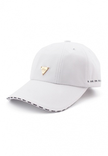 DOSSCAPS white HATER Sanwich Brim Cap (White) DO290AC0SXQ5MY_1