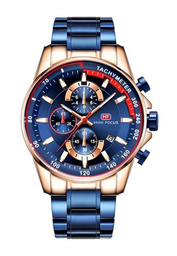 Mini Focus blue Mini Focus Chronograph Men Watch 7E9D0ACA154E1CGS_1