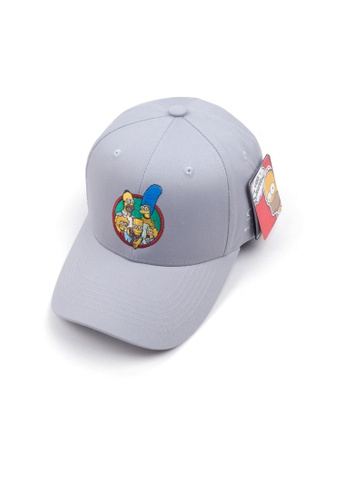M-Wanted grey M. The Simpsons Series Baseball Cap X Family Portrait 1D94CACDAB8262GS_1