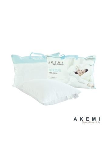 AKEMI AKEMI Sleep Essentials Microfil Pillow. AEBFDHLFACEBF4GS_1