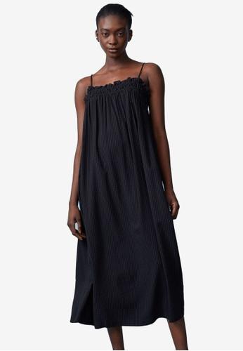 H&M black Sleeveless Dress 185AEAA2B8FF9AGS_1