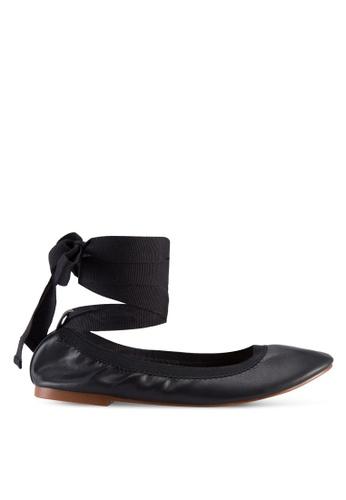 TOPSHOP black Vanquish Ballerina Pumps DO816SH32KWPMY_1