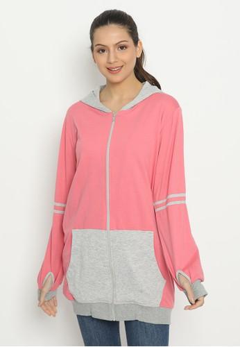 Heaven Sent pink Lovata Hoodie Pink 493AEAACBEEB41GS_1
