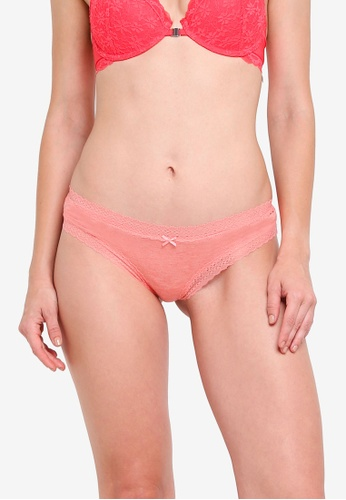 Cotton On Body pink Super Soft Brasiliano Brief 58196US7730B6FGS_1